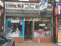 Newsagent And Grocery shop to let