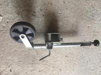 Jockey wheel, clamp and no-drill bracket for 50mm draw bar/Erde/daxara