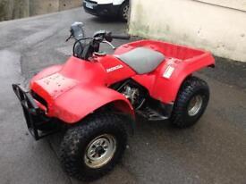 Honda trx200 fourtrax 2wd quad (swap Vespa)