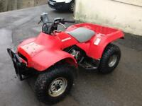 Honda trx200 fourtrax 2wd quad (swap Vespa)