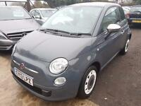 FIAT 500 1.2 Colour Therapy 3dr (grey) 2013