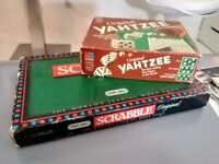 Scrabble and Yahtzee excellent central London bargain