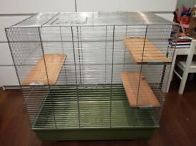 Large chinchilla cage and transporter