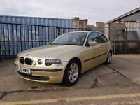 BMW 1.6ti compact auto 77.000 miles with service history £1495 part exchange welcome