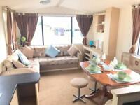 3 bedroom static caravan for sale with 2018 pitch fees included !!