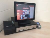 ★ Touchscreen Epos Pos Till for Restaurant, Takeaway, Nightclub, Bar / Pub, Cafe, Hotel, Shop