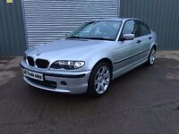 2004 BMW 3 SERIES SALOON 1.8 AUTOMATIC *** FULL YEARS MOT *** similar to golf focus civic 308