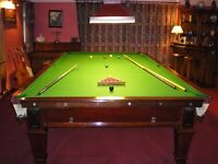 Full-Size Snooker Table and Accessories