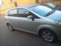 Toyota Corolla Verso 7 seater car. Cheap priced to sell