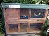 Rabbit Hutch - Brand new Cover - Comes with extras