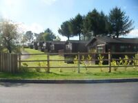 Wooden lodge for sale in the saundersfoot area