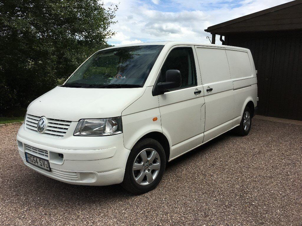 2005 vw t5 transporter van lwb t30 diesel 1 9 tdi lwb 1 year mot like vauxhall vito camper van. Black Bedroom Furniture Sets. Home Design Ideas