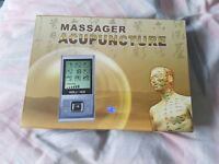 HLYOON Multifunction TENS Unit 8 Modes Electric Professional Acupuncture Massager