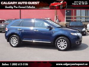 2012 Lincoln MKX AWD NAVI/B.CAM/SUNROOF/LEATHER