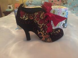 Size 40 women's irregular choice Abigail's party heels brand new.