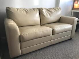 Debenhams cream sofa bed