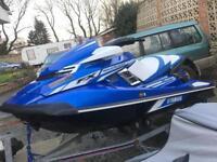 Yamaha jetski FX SVHO 1800cc supercharged 82mph not seadoo