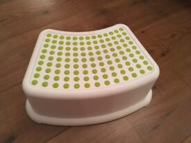 Toddler Ikea bathroom stool