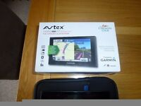 Avtex garmin camper660LMT-D Premium sat nav caravan club edition