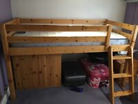 2 single cabin beds with mattresses excellent condition