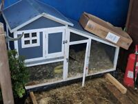 Lop ear rabbit and hutch (free to good home)
