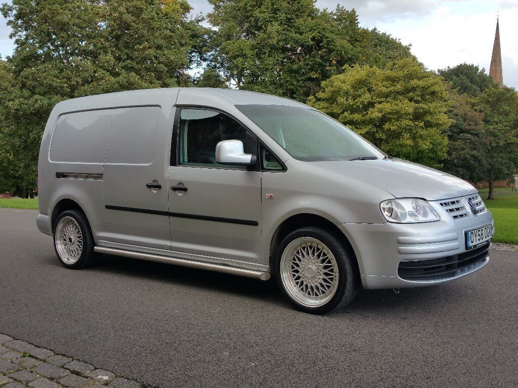 2008 volkswagen caddy maxi 1 9tdi metallic silver colour coded customised rare. Black Bedroom Furniture Sets. Home Design Ideas