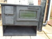 Old Fashion Kitchen Stove /Log Burner