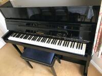 Hoffman by C. Bechstein Upright Piano - beautiful, deep, European sound
