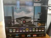 Digital led 1080 projector 3d WiFi