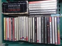 assorted classical music CDs
