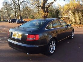 2007 AUDI A6 2.0 DIESEL 6 SPEED FSH WARRANTED MILES HPI CLEAR 12 MONTHS MOT *SAT NAV CRUISE CONTROL