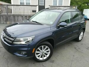 2014 Volkswagen Tiguan LEATHER | PANO | LOW KMS |