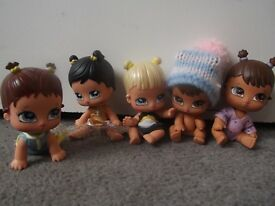 Bratz babies dolls and outfits as shown in image . . . .