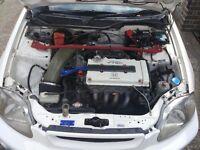 Honda civic Ek9 type R , b18c6 ITR swap