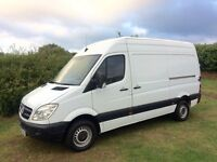 MERCEDES SPRINTER 313 CDI MWB DIESEL 2012 12-REG ONLY 135,000 MILES WITH FULL SERVICE HISTORY