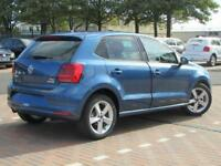 Volkswagen Polo SEL TDI BLUEMOTION (blue) 2017-09-29
