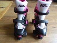 No Fear Kids Quad Skates Girls Skate Shoes Rollers Wheeled