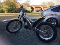 Gas Gas 125cc trials bike