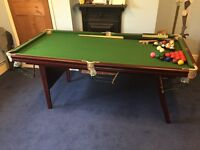 6' Snooker Table