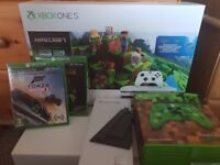 Xbox One S 1TB Console Minecraft Bundle and more! Brand New!