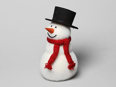 """Muñeco de Nieve """"Flocke"""" Para Adviento Navidad Bajo Árbol Deco Escaparte"""