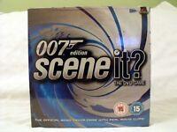 SCENE IT 007 JAMES BOND EDITION DVD TRIVIA BOARD GAME AGE 15 (NEW SEALED)