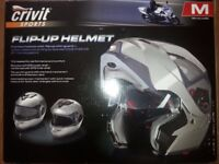 FLIP MOTORCYCLE HELMET (NEW)