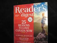 NEW Reader's Digest Magazine- for July-Great deal!