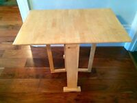 Contemporary John Lewis pine dining table