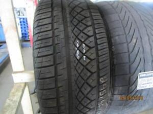 245/40R18 SINGLE ONLY USED CONTINENTAL A/S TIRE