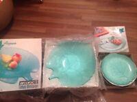 Plates and big dish bowl