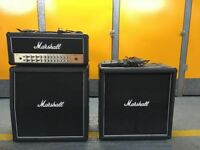 Marshall AVT150HX Valvestate head & full stack guitar amp