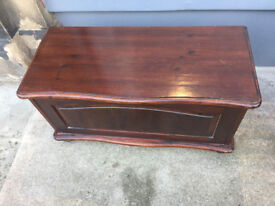 Wooden Blanket Box - free local delivery feel free to view size L 33 in D 15 in H 18 in