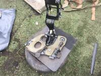 Corsa b brake and acelarator pedals